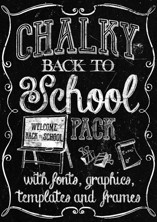 Chalky Back to School pack