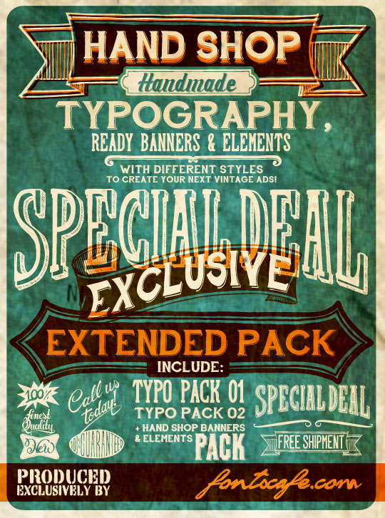 Hand Shop Extended pack