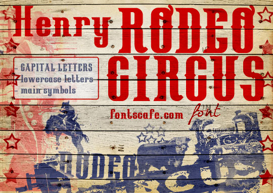 Henry Rodeo Circus  font | Fonts Cafe