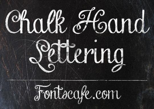 Chalk Hand Lettering Pack