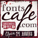 cool fonts and more! fontscafe.com