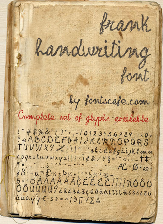 Old Handwriting Fonts