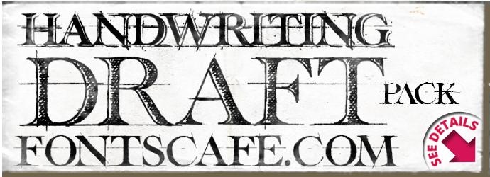 Handwriting draft 3-Pack