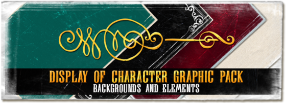 DisplayOfCharacter_Graphic-Pack