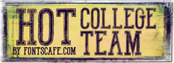 """Hot College Team"" font"