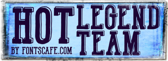 """Hot Legend Team"" font"