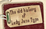 """Lady Jane Typo"" font typography use 1"