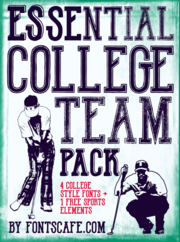 """Essential College Team"" Pack example"