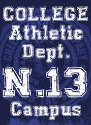 """Universal COLLEGE"" font use 2"