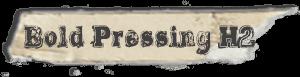"""Bold Pressing H2"" font"