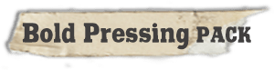 """""""Bold Pressing Pack"""" fonts"""