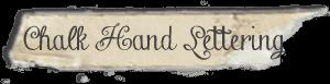"""Chalk Hand Lettering"" font"