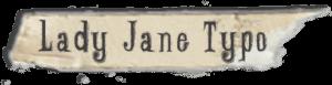 Lady Jane Typo font