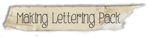 Making Lettering Family