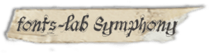 """fonts-lab Symphony"""