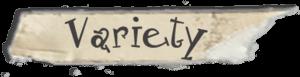 Variety scotch font
