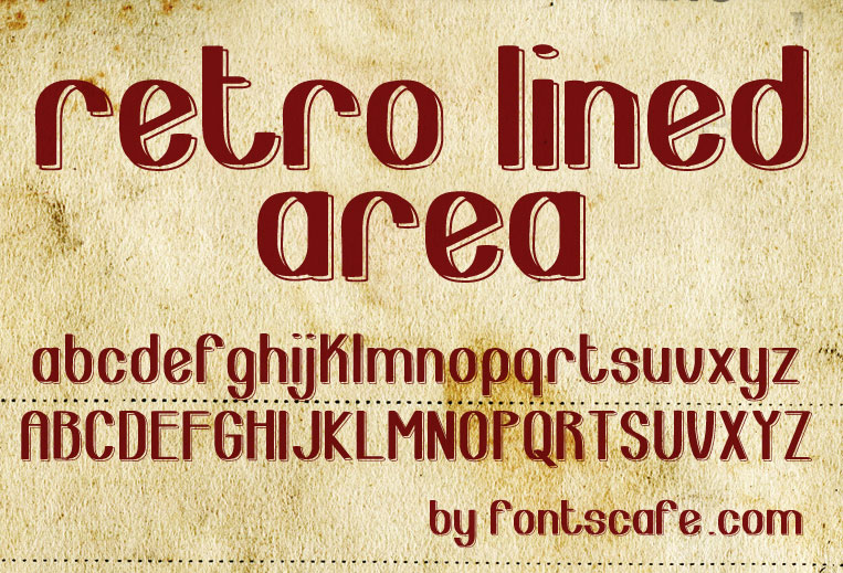The gallery for --> Retro 60s Font